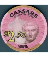 $2.50 Casino Chip, Caesars, Atlantic City, NJ. K74. - $5.95