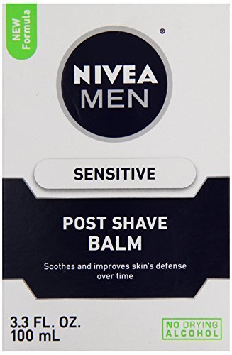 NIVEA FOR MEN Sensitive Post Shave Balm 3.3 oz