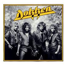 Dokken T shirt Under Lock Key 80's heavy metal band retro rock concert tee  image 2