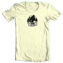 Big Foot T shirt Don't Stop Believing Sasquatch funny 80's cotton graphic tee   image 2