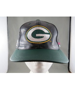 Green Bay Packers Leather Hat - Super Bowl 31 Champs - Drew Pearson  Gri... - $75.00