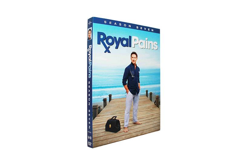 Royal Pains Season 7 2 DVD Boxset free shipping