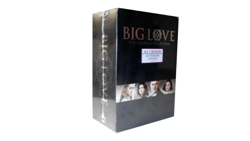 Big love The Complete Series Seasons 1-5 20 DVD Box Set Free Shipping