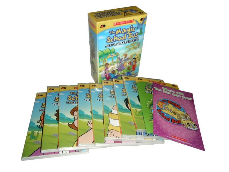 The Magic School Bus The Complete Series 8 DVD Box Set Free Shipping