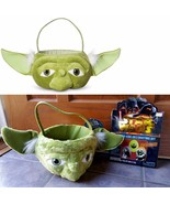 Star Wars Yoda Plush Easter Basket Halloween Carry Handle & Egg Stickers... - $19.77