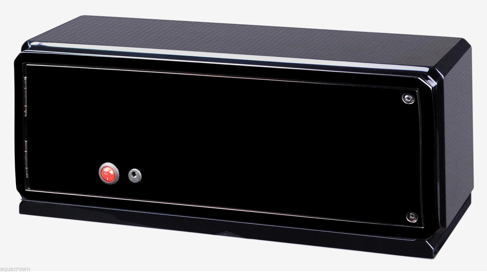 Volta Automatic Quad 4 Watch Winder Box Carbon Fiber 31-570042