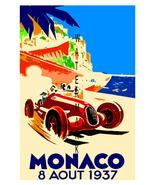 Monaco Vintage (1937) Grand Prix Auto Racing 13... - $19.95