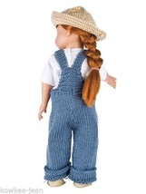 "Fun Fashions DOLL CLOTHES (8 contemporary outfits) TO KNIT for 18"" dolls... - $10.87"
