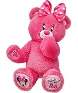 Build a Bear Workshop Pink Minnie Mouse Teddy 16 in. Stuffed Plush Toy A... - $78.95