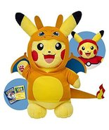 Build a Bear Pikachu Pokemon Pokeball Charizard... - $189.99
