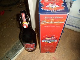 Limited Edition 2006 Cardinals 1 Quart Collectable Glass Beer Bottle - $29.69