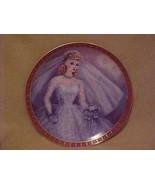 Vintage 1959 Barbie Ponytail Portrait Plate Danbury Mint Bride Porcelain - $28.66