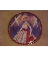 1965 American Girl Barbie Portrait Plate Danbury Mint Holiday Dance Outf... - $28.66