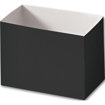 Black Gift Basket Boxes, 12 count - $20.00