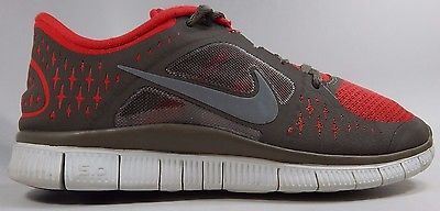 Nike Free Run 3 Women's Running Shoes Sz US 7.5 M (B) EU 38.5 Red 510643-602