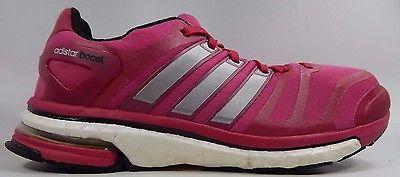 Adidas Adistar Boost Women's Running Shoes Size US 7 M (B) EU 38 2/3 Pink Silver