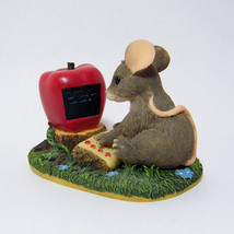 Charming Tails MAXINE GOES ON-LINE Fitz & Floyd Handcrafted Figurine '97 Retired - $6.00