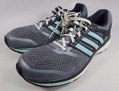 Adidas Glide Boost 6 Women's Running Shoes Size US 6 M (B) EU 37 1/3 Gray