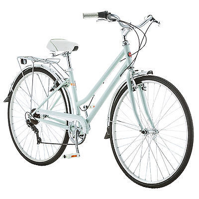 Women`s Bicycle Vintage Hybrid Bike Cruiser Cycling Summer Beach Schwinn Fit New