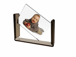 """Acrylic Tabletop 4x6"""" Spinner Picture Photo Frame Menu Holder Display Pl... - $8.01"""