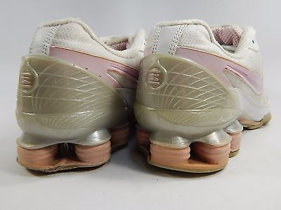 Nike Shox Precision Women's Running Shoes Size US 7 M (B) EU 38 White 312975-162