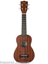 Kala Mahogany Soprano Ukulele Satin Finish Pre-Strung Musical Instrument... - $73.73