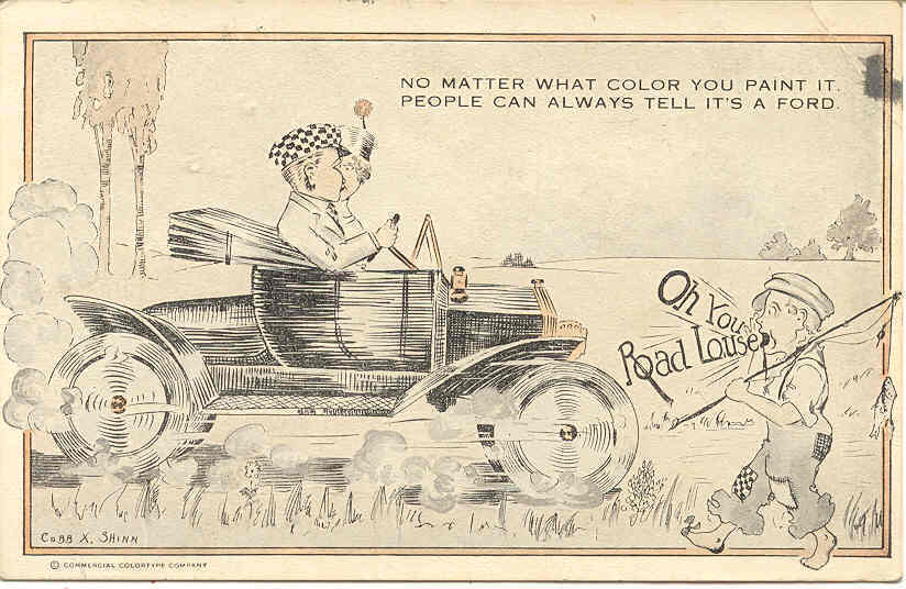 Primary image for The Road Louse artist Cobb Shinn Post Card