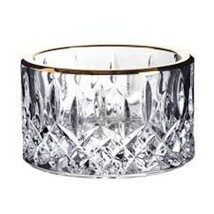 Waterford Crystal Lismore Gold Champagne Coaster - $200.00