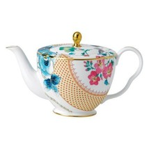 Wedgwood Butterfly Bloom 33.8oz Ceramic Teapot - $262.97