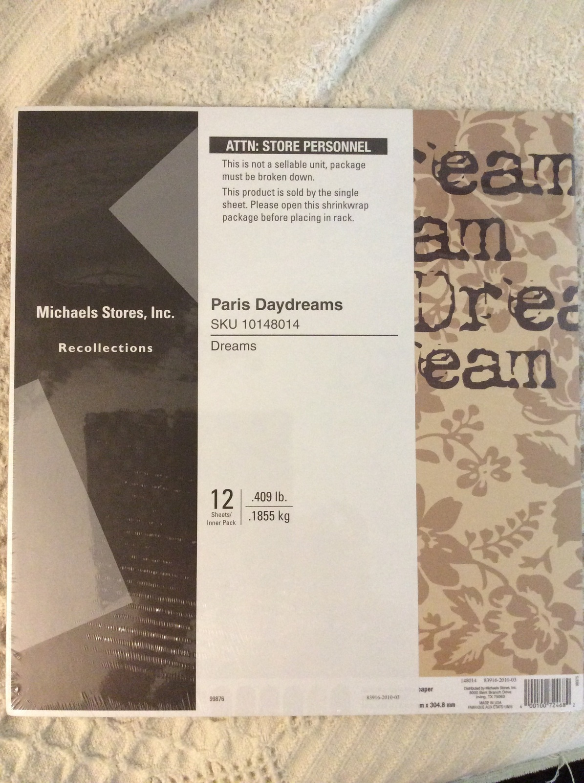 Michaels Recollection Paris Daydreams And 23 Similar Items
