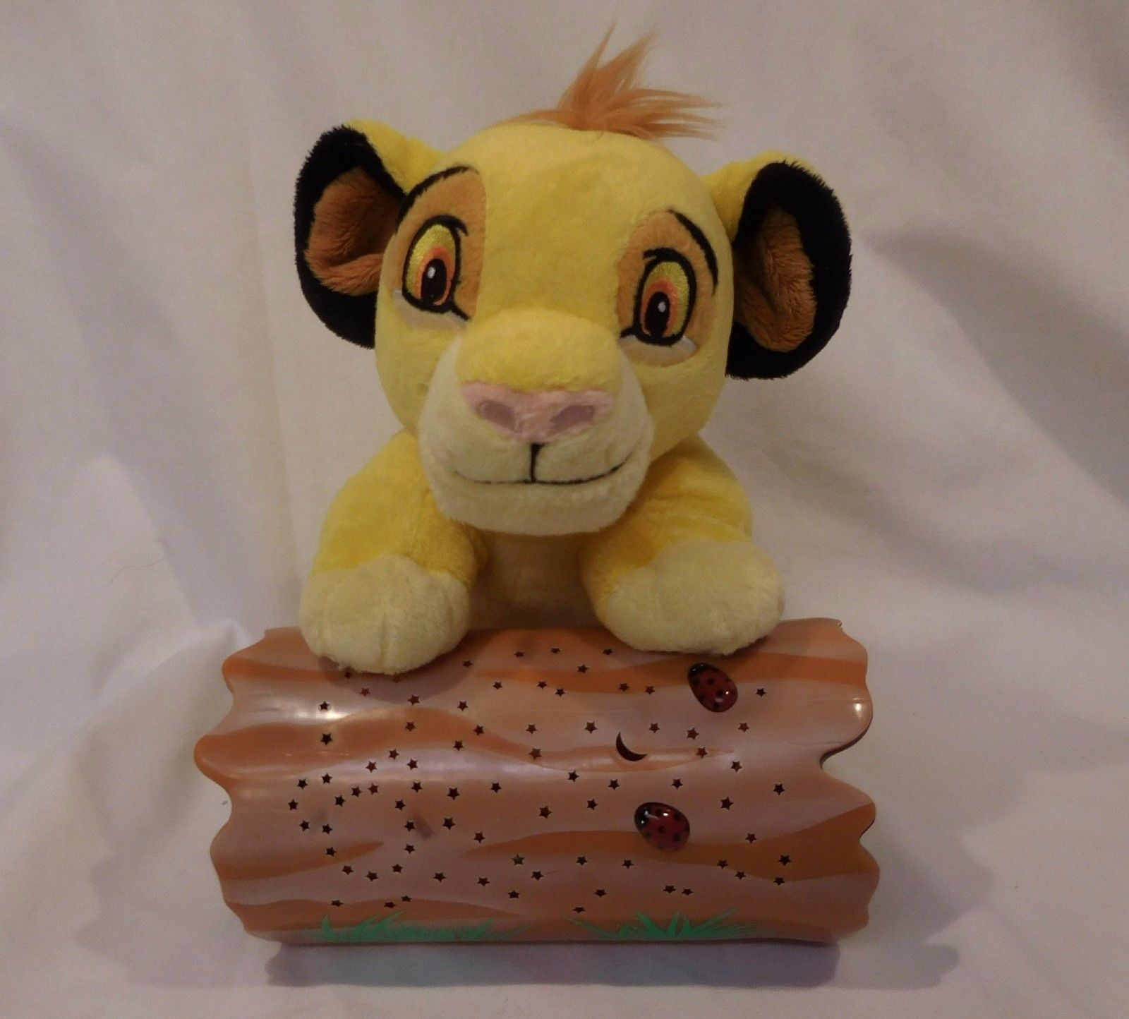 Disney Baby by Cloud B The Lion King Simba Dreamy Stars Soother Night Light EUC - $26.41