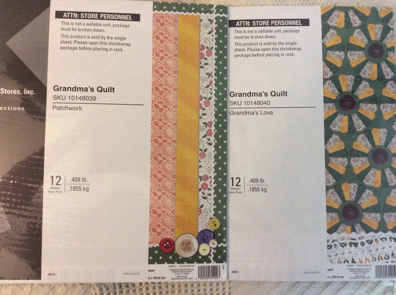 Michaels Recollection Grandmas Quilt And 23 Similar Items
