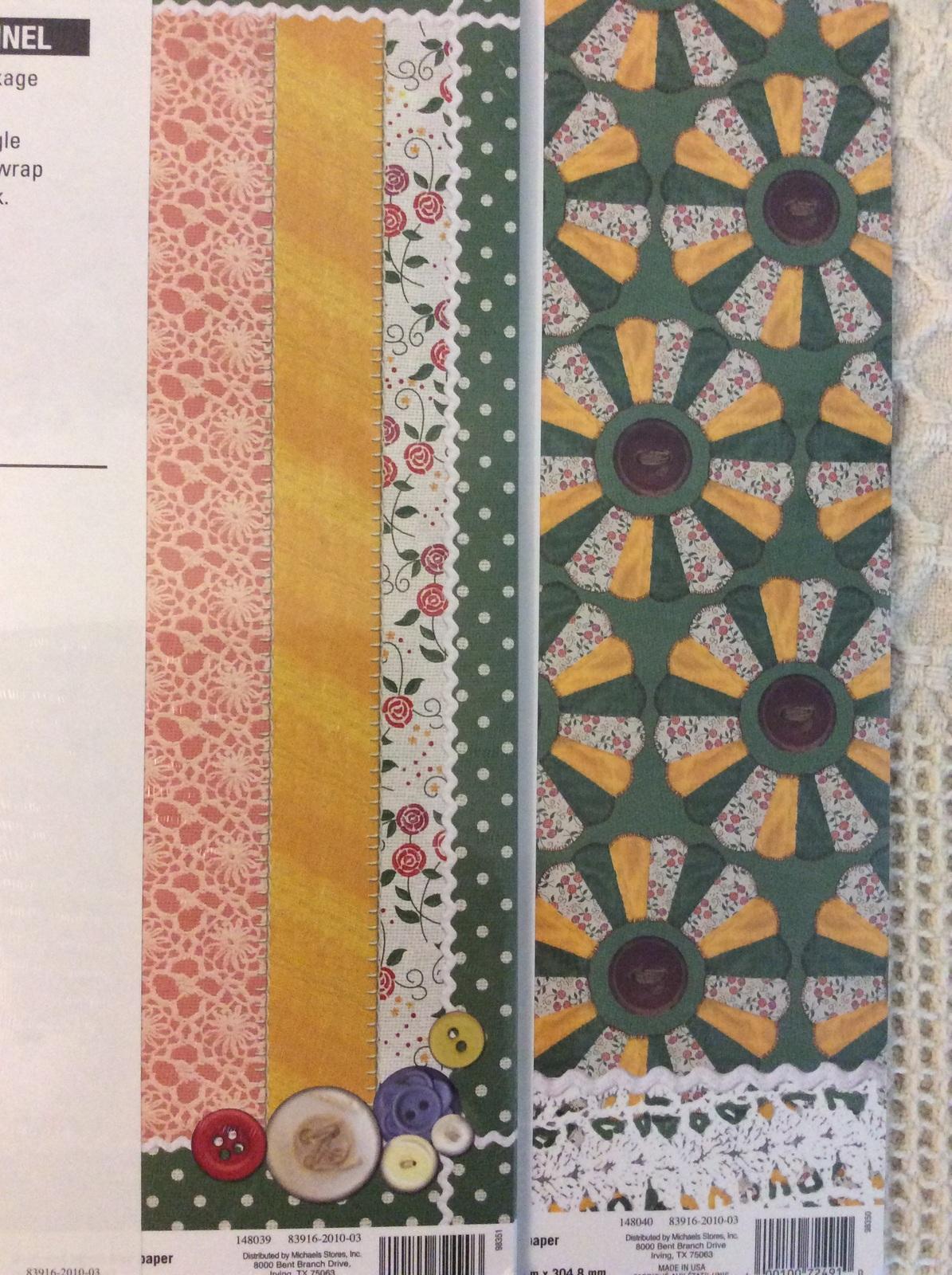 scrapbook quilt