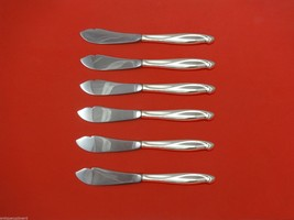 Silver Sculpture by Reed & Barton Sterling Silver Trout Knife Set 6pc. Custom - $366.80