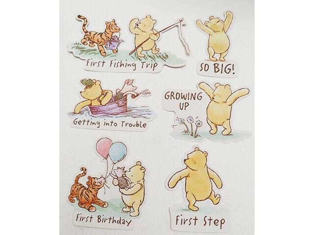 Winnie the Pooh Cardstock Ephemera, 17 Pieces