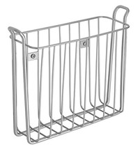 iDesign Classico Metal Wall Mount Magazine Rack, Newspaper and Book Hold... - $37.43