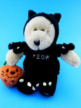 Starbucks 2002 Bearista Halloween Cat Costumed MEOW Plush Doll - $11.13