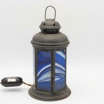 Stained glass hanging glass lamp pendant luminaire - $113.48