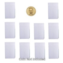 Small Dollar Square Coin Tubes, Numis Brand, 26.5mm, 10 pack - $8.99