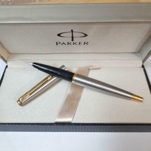 Vintage Parker 45 Flighter Deluxe Gold Trim Fountain Pen Made In USA - $69.30