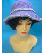 Handmade Crochet Fun Sun Hat Japanese Chin Dog - $27.00