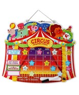 EduKid Toys MAGNETIC CIRCUS REWARDS CHART ~SAMPLE OPENED LIKE NEW~ - $16.99
