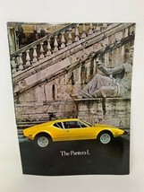 Pantera L Car Brochure Sales Dealer Showroom Ford Ghia 1973 Vintage 18-1254 - $12.79