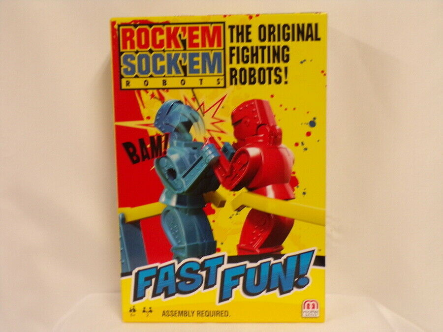 Primary image for NEW SEALED 2019 Mattel Rock Em Sock Em Robots Game
