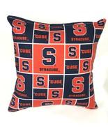 Syracuse Pillow Football Pillow New York Pillow NCAA HANDMADE In USA - $9.99