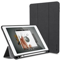 For iPad Pro 10.5 Case PU Leather Slim Smart Cover With Pencil Holder Au... - $29.99