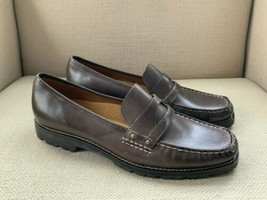 Cole Haan Brown Leather Loafers US Womens size 9.5 B  NWOB - $37.08