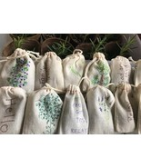 Relaxing Lavender sachets favors or small gifts with essential oils Set of 12 - $9.99