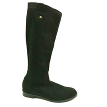 Kenneth Cole Reaction Womens Soozie Stretch Boots Knee High Black Sz 7.5 New - $35.62