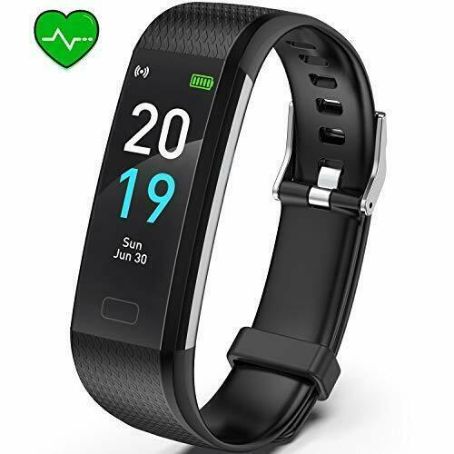 Primary image for Fitness Tracker HR, S5 Activity Tracker Watch with Heart Rate black